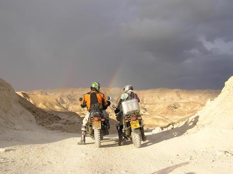 חורף במדבר יהודה 2007