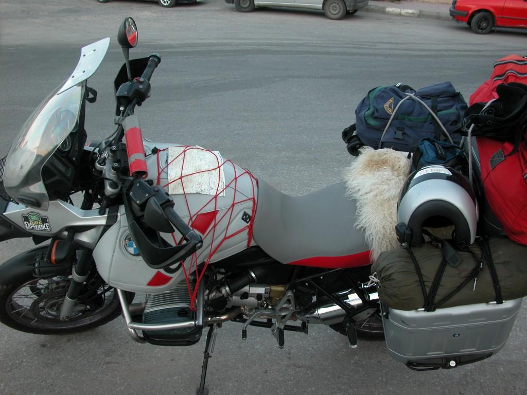 אופנועי העמוס בטיול לפני שנתיים
