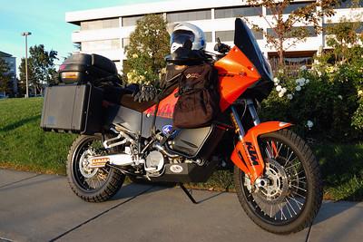 KTM 990 Aadventure דגם 2008 עולה כ 11000$